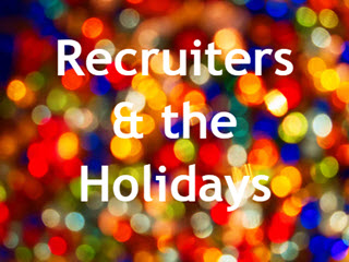 Are Recruiters on Your Holiday Card List?