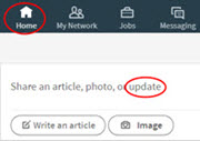 How to Leverage LinkedIn Status Updates for Your Job Search