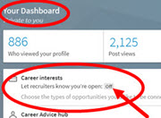 Increase Your Visibility to Recruiters Using LinkedIn Shared Career Interests
