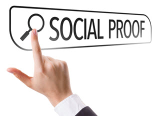 Social Proof -- Required for Successful Job Search