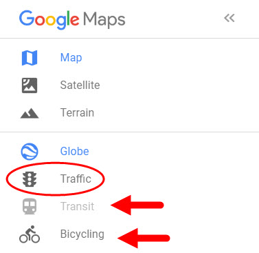 Use Google Maps to determine your commute to a new job
