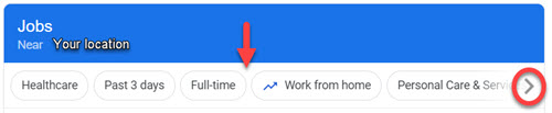 Google search for jobs near me